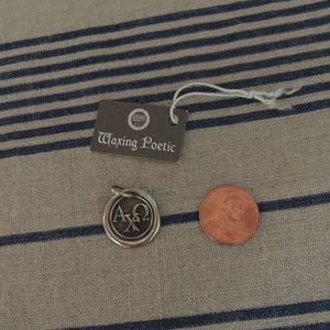 Waxing Poetic Alpha Chi Omega Sterling Charm